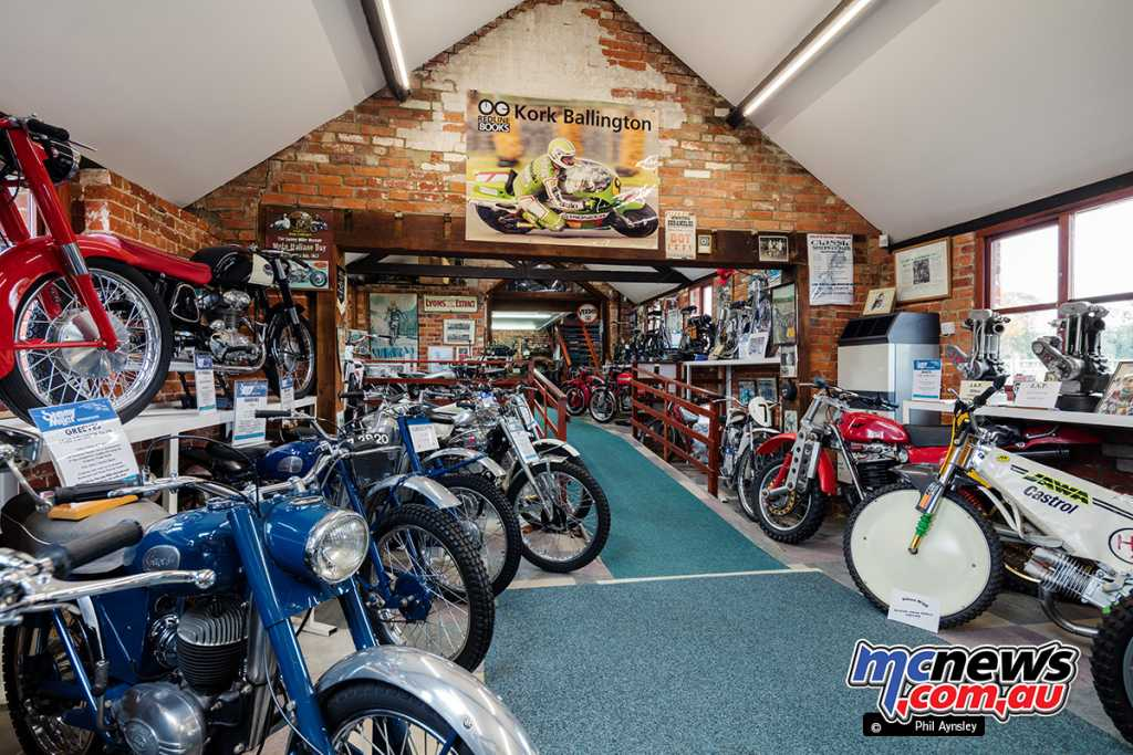 The Sammy Miller Motorcycle Museum
