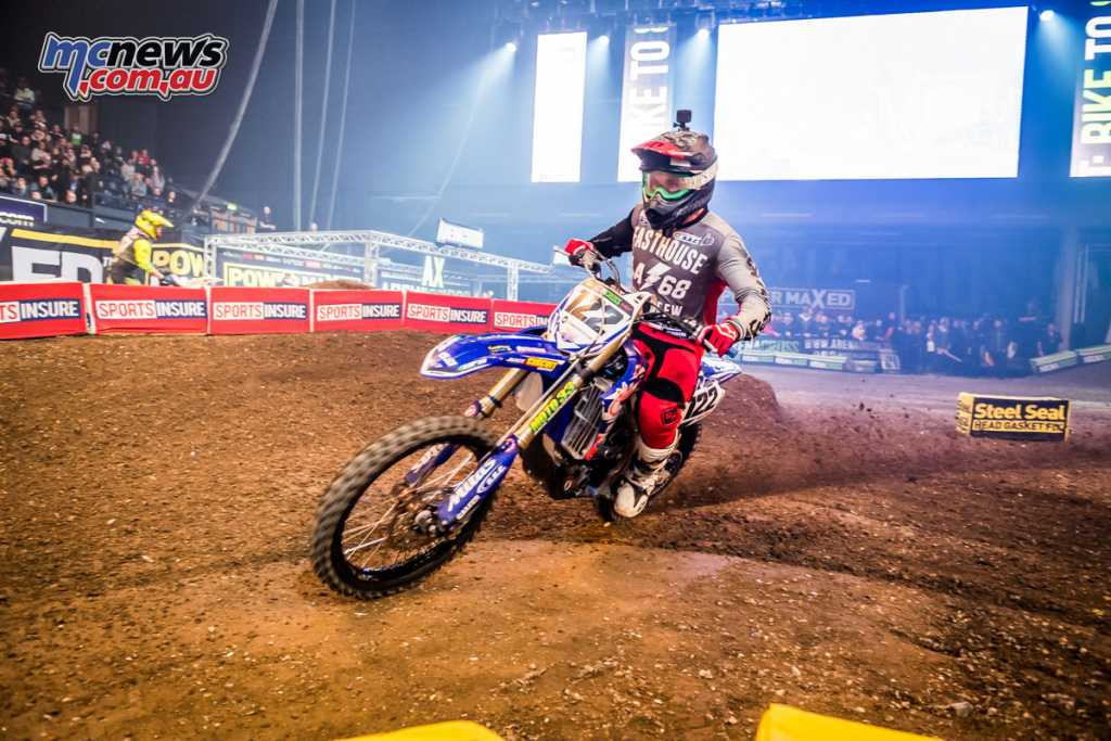 Dan Reardon at Wembly Arenacross