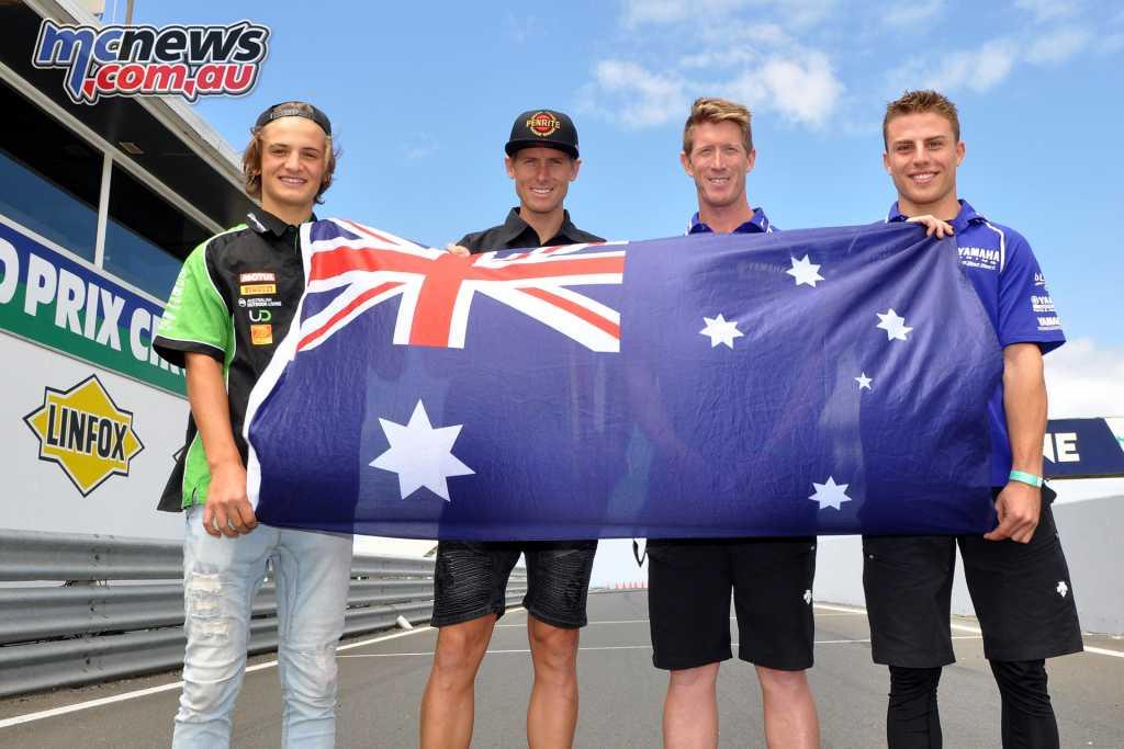 Australia's 2018 WSBK wildcards for the Phillip Island opening round