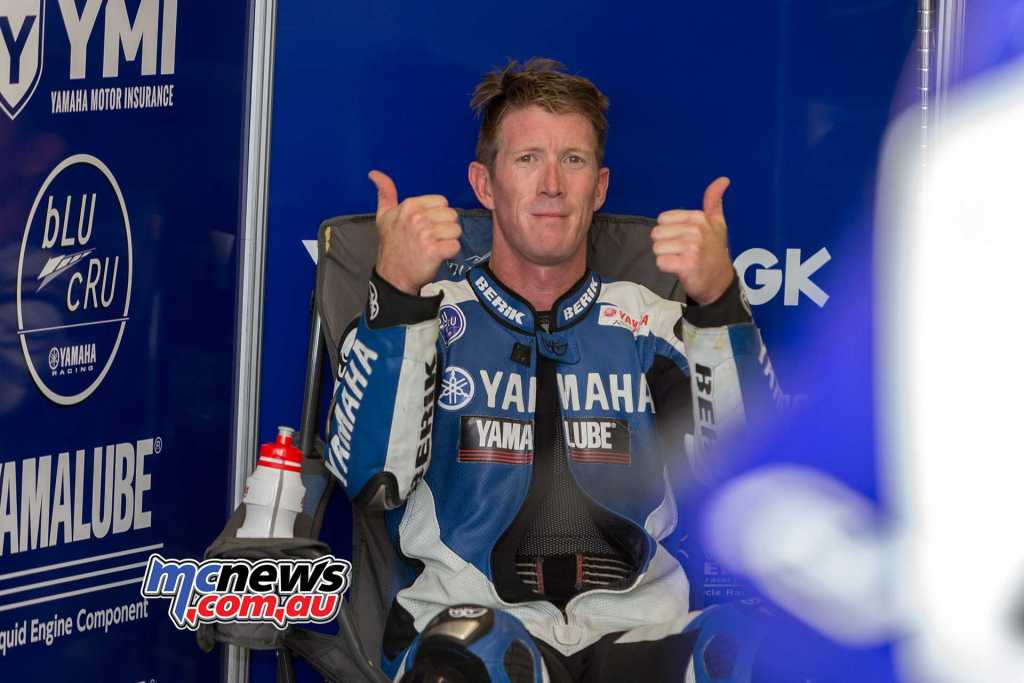 Wayne Maxwell quickest of the Aussies - Image by TBG