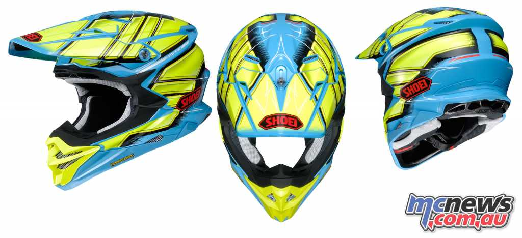 The Shoei VFX-WR Glaive