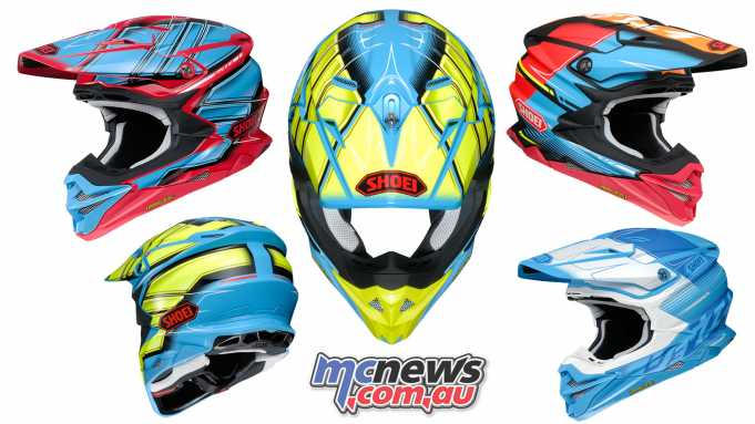 Shoei's VFX-WR helmet arrives soon!