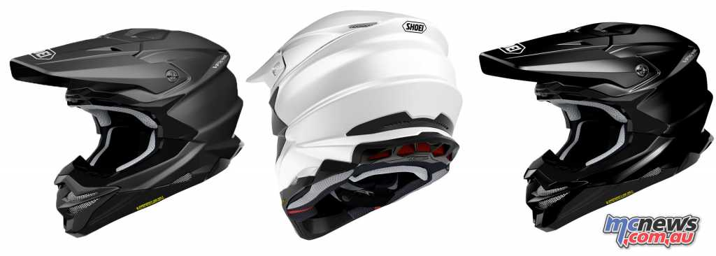 The Shoei VFX-WR in solid colours