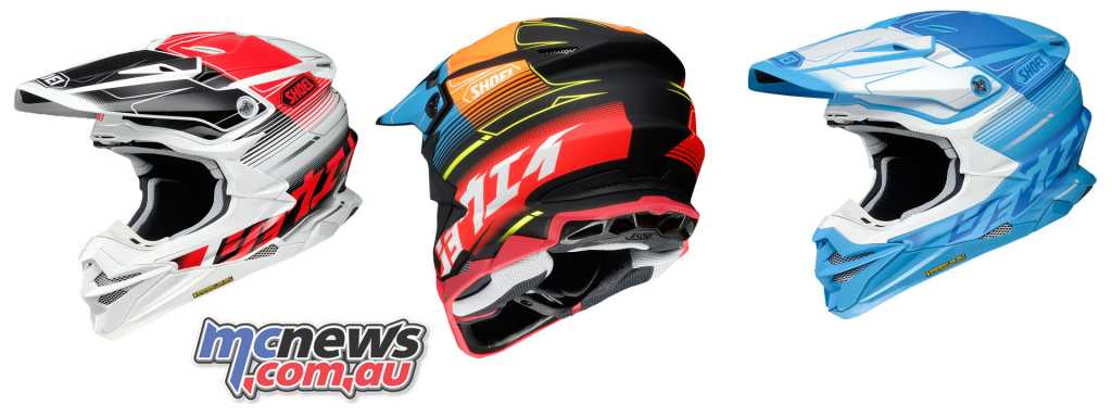 Shoei's VFX-WR helmet arrives from March