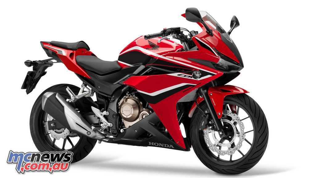 2018 Honda CBR500R in Grand Prix Red