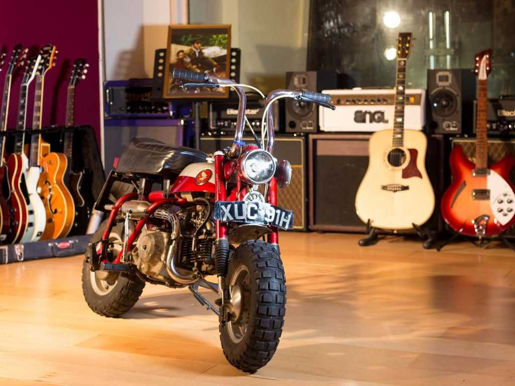 John Lennon's Monkey Bike sells for 57,500 pounds