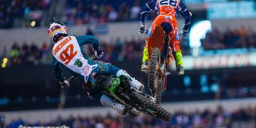 Cianciarulo and McElrath getting some serious air - Image by Hoppenworld