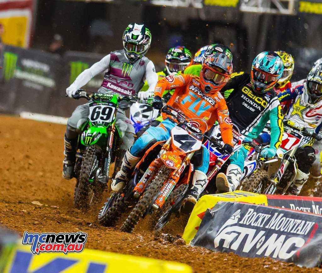 2018 AMA Supercross Round Nine Atlanta