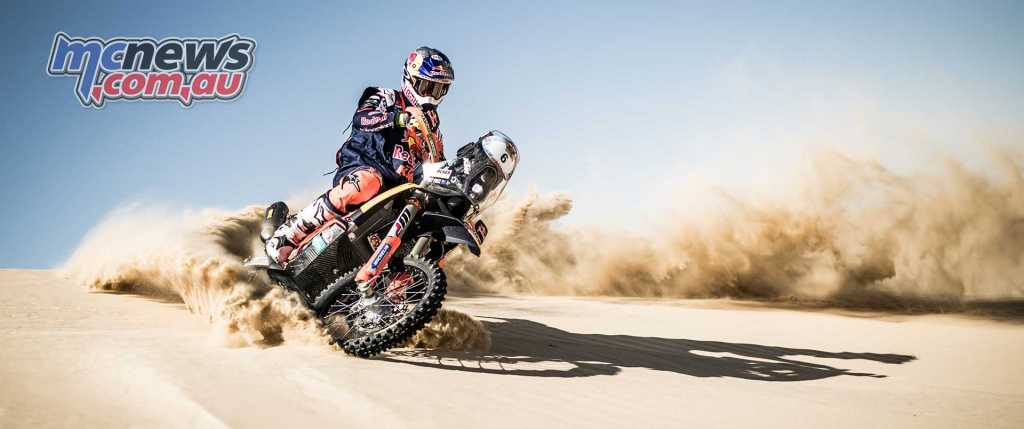 Toby Price early leader after first of five stages - Image by Marcin Kin
