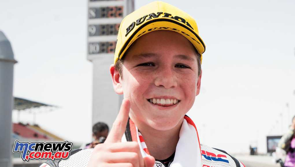 Billy Van Eerde heads to Thailand holding down second place in the Asia Talent Cup standings