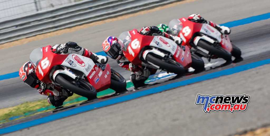 Ben Baker battling with Adenanta Putra
