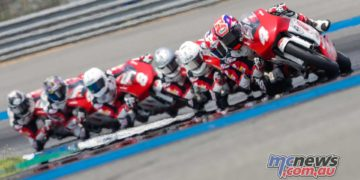 Asia Talent Cup 2018 - Round Two - Thailand - Musandar leads a tight pack in this shot