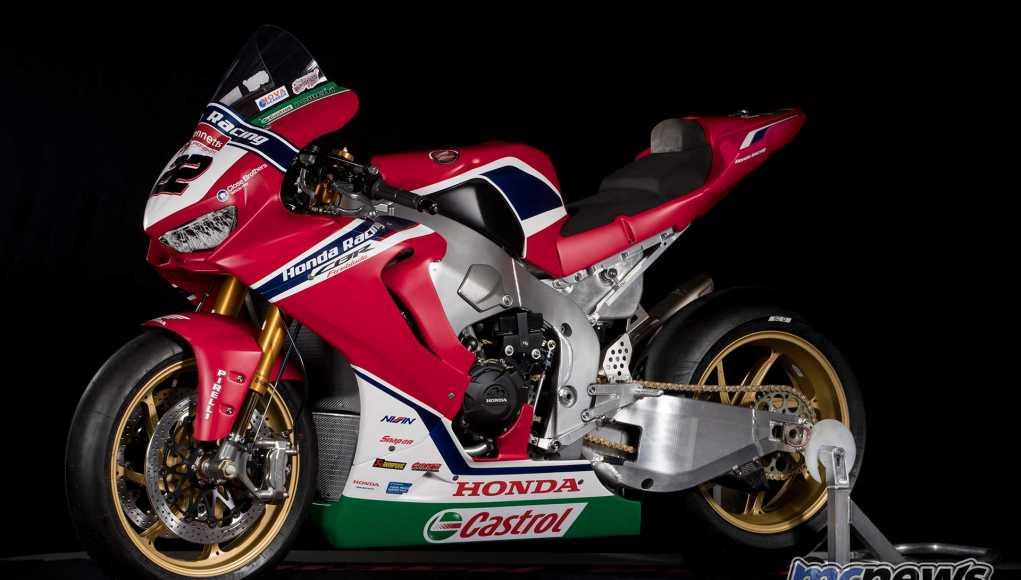 BSB Team Honda Racing 2018 Honda CBR1000RR Fireblade SP