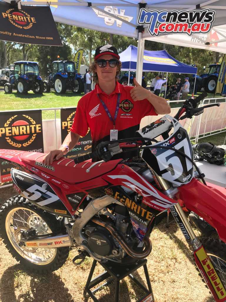 The Penrite Pirelli CRF Racing Team add Jackson Richardson and Kyle Webster for 2018