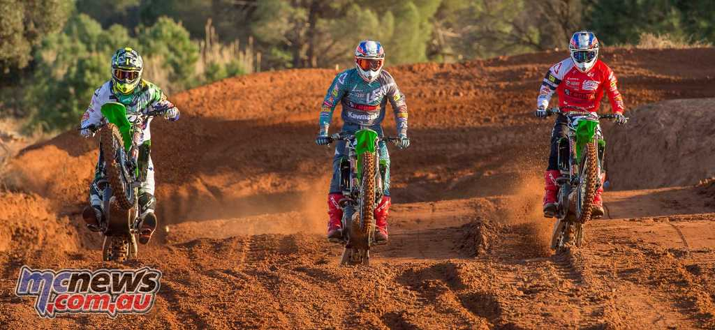 Jed Beaton is about to embark on the MX2 World Championship with theDutch F&H Racing Team alongside Britain's Adam Sterry and Spaniard Ruben Fernandez - Bavo Image