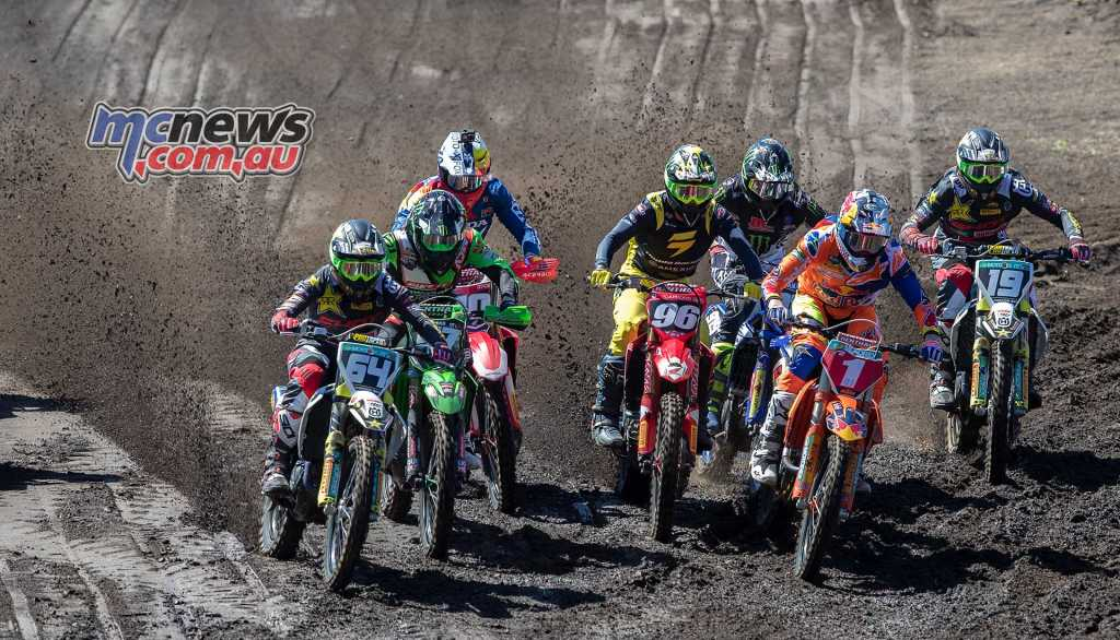 Jonass and Lawrence in the lead in MX2