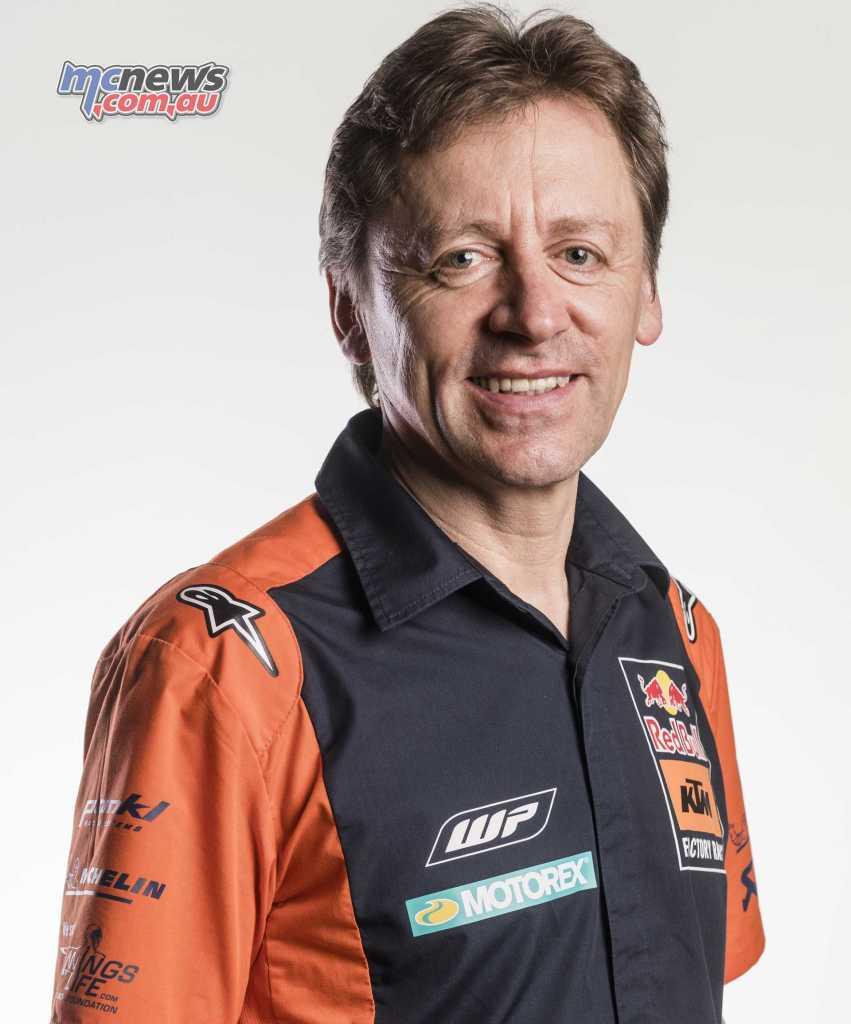 Mike Leitner (Team Manager MotoGP)
