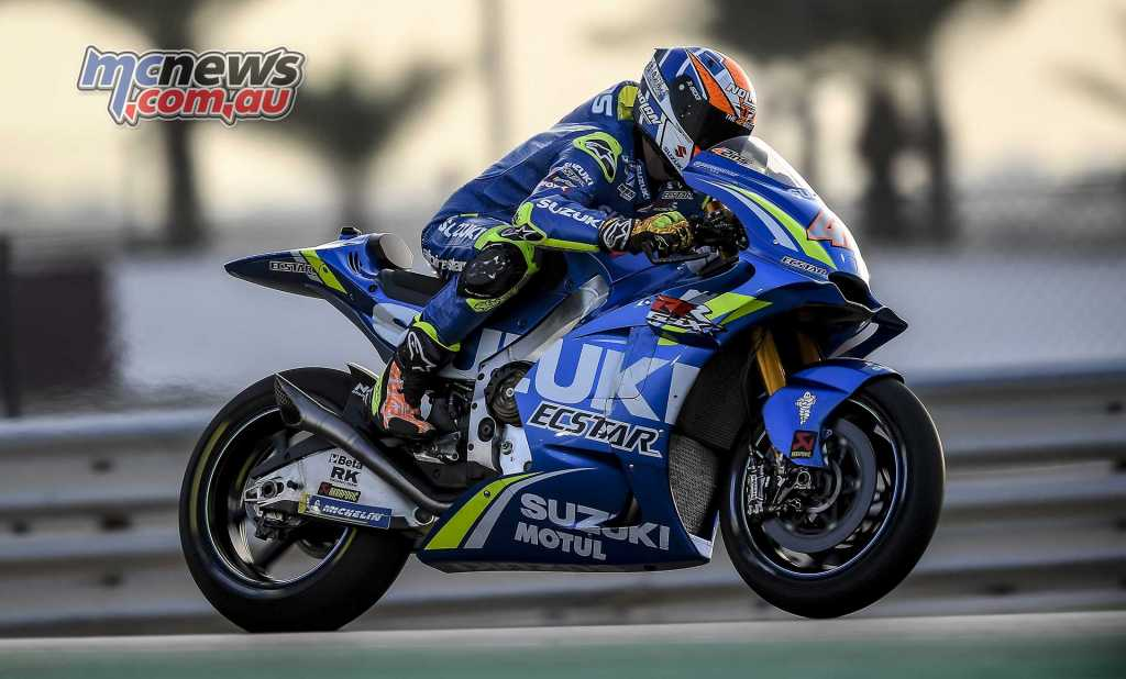 Suzuki have started off well with the 2018 MotoGP pre-season tests