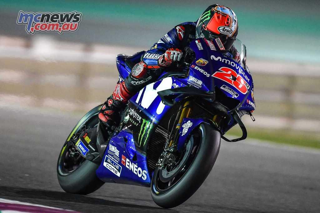 Yamaha men a bit happier in Qatar than they had been in Thailand - #QatarTest 2018