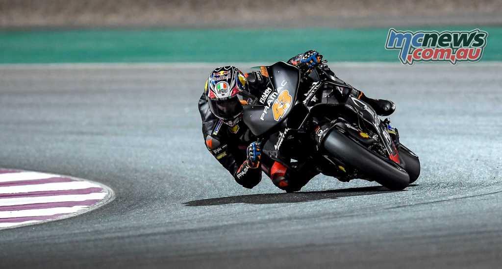 Jack Miller testing at Qatar