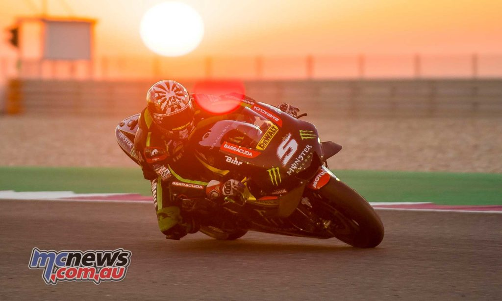 Johann Zarco tops #QatarTest by 1/4 of a second
