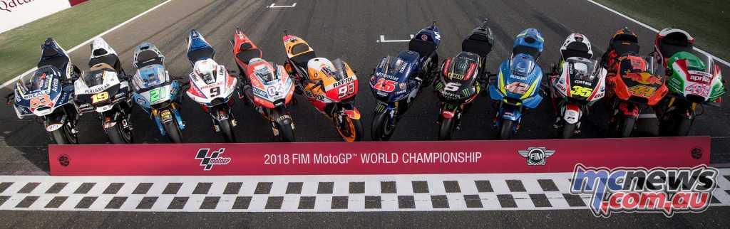 MotoGP 2018 Machines