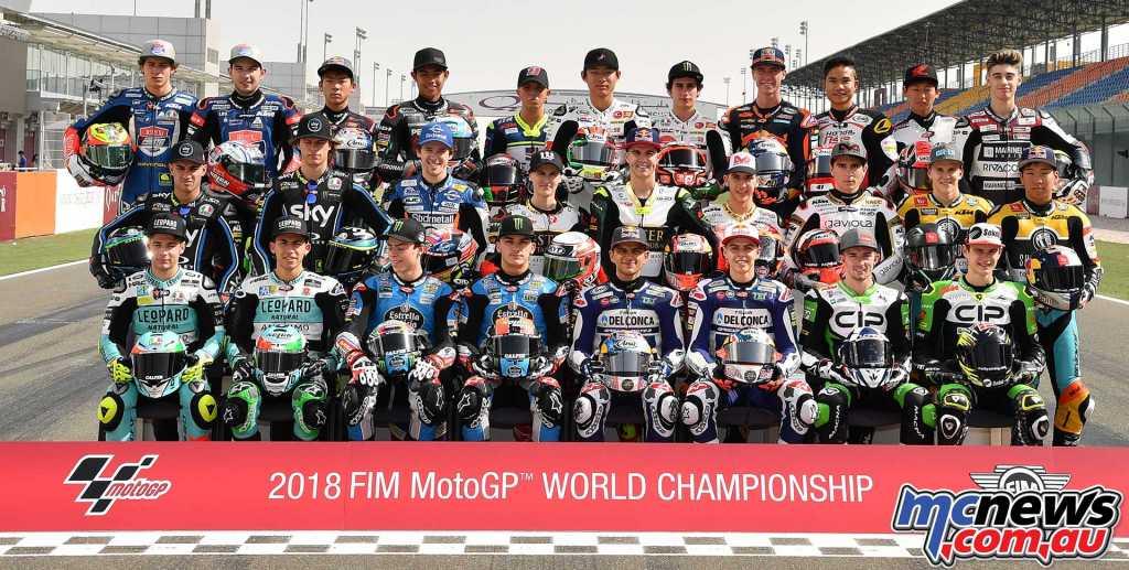 2018 Moto3 Riders