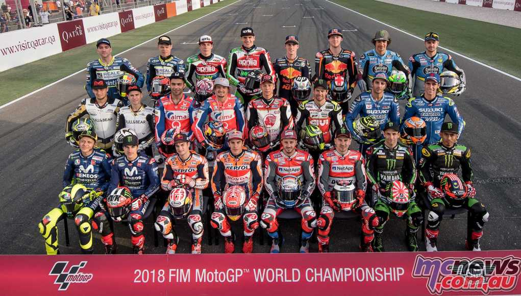 MotoGP ready to rock 2018