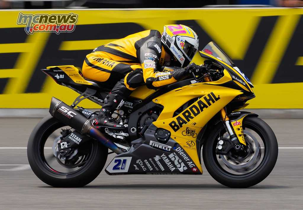 Randy Krummenacher (BARDAHL Evan Bros. WorldSSP Team)