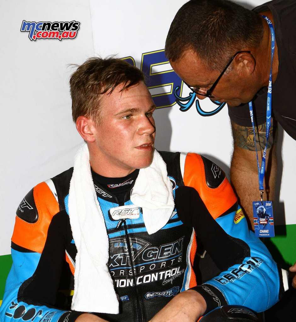 Ted Collins - World Supersport 2018 - Round Two - Thailand