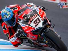 Marco Melandri holds the WorldSBK lead heading to Thailand