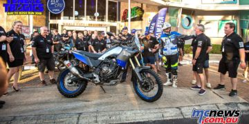 Whoa! Surprise arrival! Rod Faggotter and the Tenere 700 World Raid.