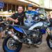 The Tenere 700 World Raid took pride of place with the Tragic's.