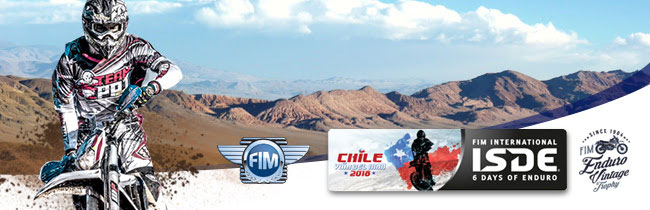 Entries for the 93rd FIM ISDE in Chile are open