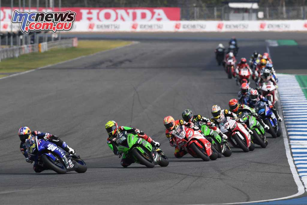 The FIM ARRC opened at the Chang International Circuit in Thailand