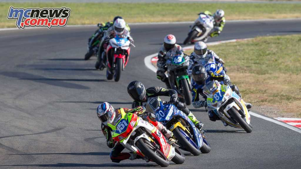 Locky Taylor leading the R3 Cup field