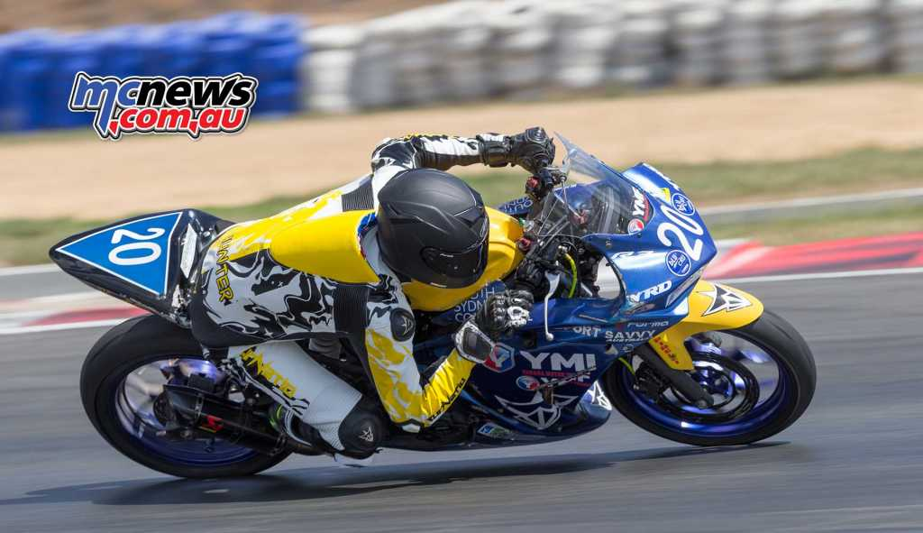Hunter Ford - ASBK 2018 - Round Two - Wakefield Park - TBG Image