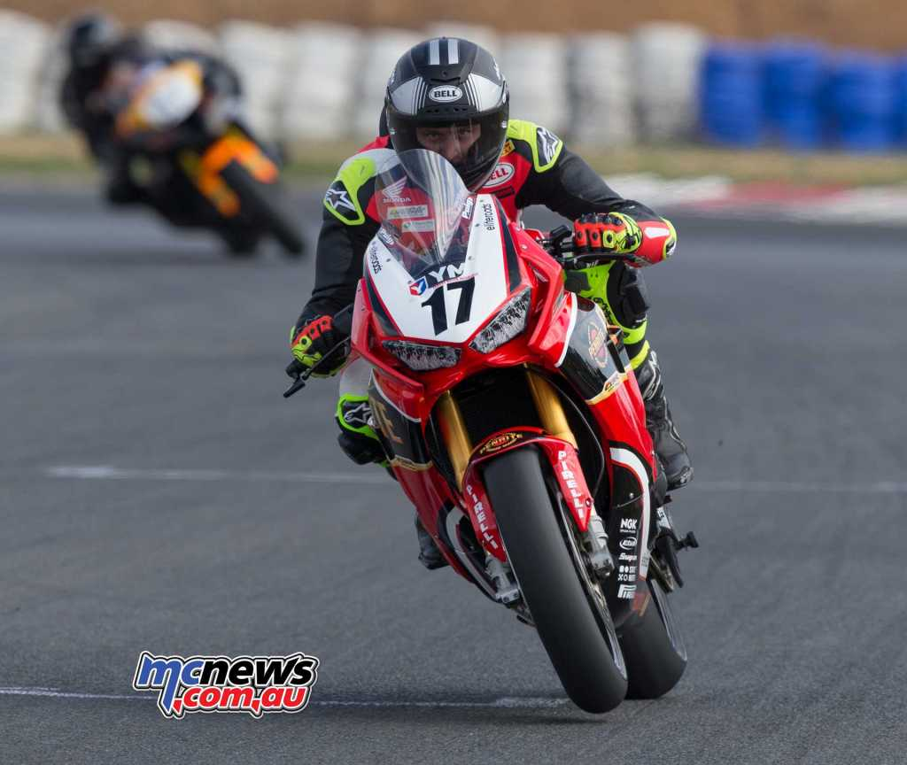 Troy Herfoss - ASBK 2018 - Round Two - Wakefield Park - TBG Image