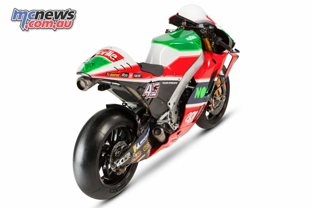 The 2018 Aprilia RS-GP boasts a number of updates