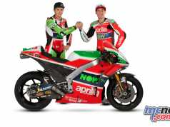 Aprilia have introduced the 2018 RS-GP and riders Scott Redding and Aleix Espargaro