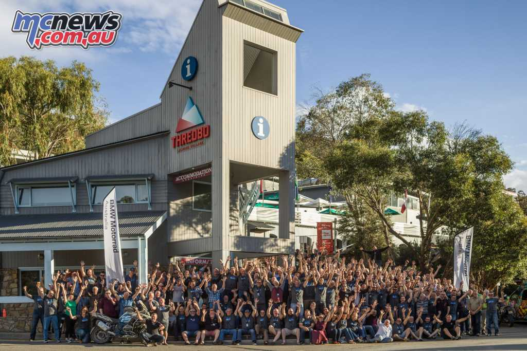 With 220 riders taking part in the BMW GS Safari it was an epic event