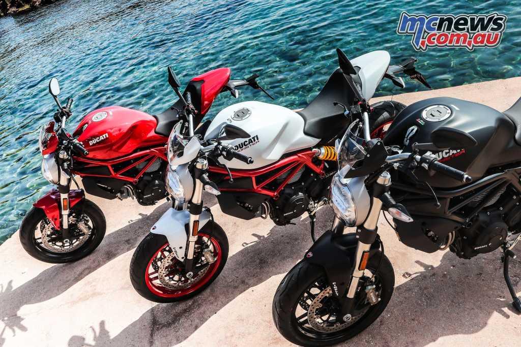 The Ducati Monster 979+