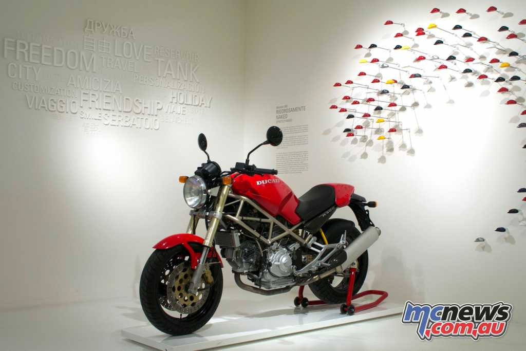 An original 1993 Monster 900 will be on display at the Ducati Museum