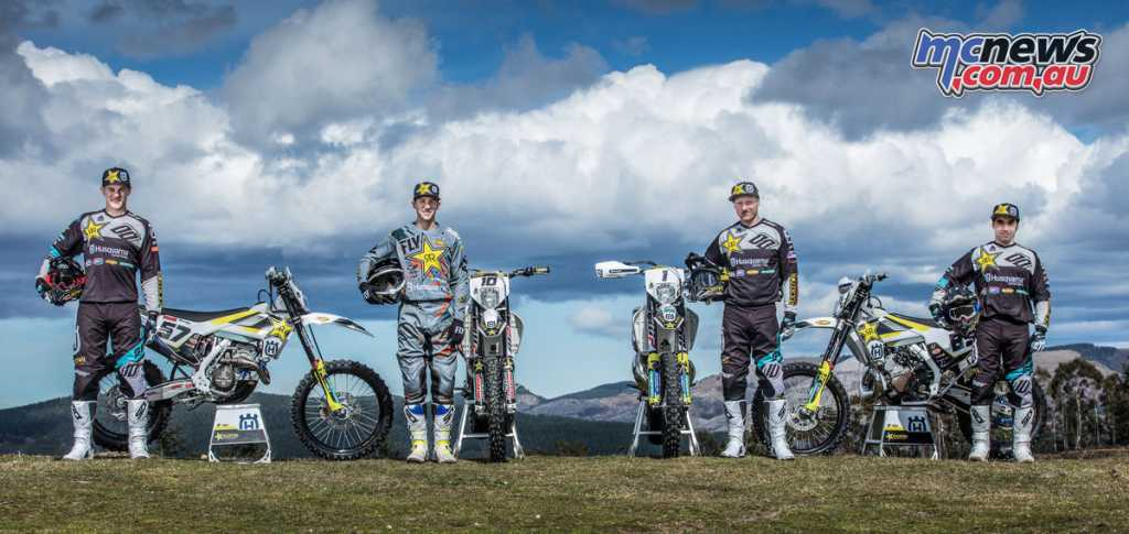 2018 Husqvarna Off-Road WESS Team line-up announced