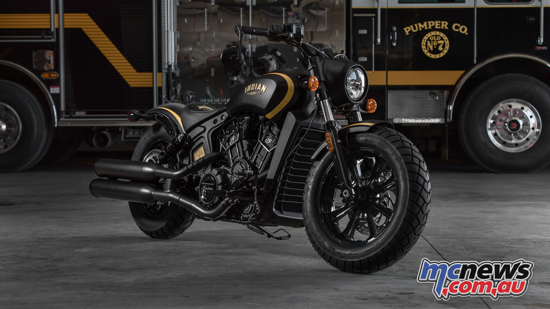 2018 Indian Motorcycle Rumors >> Indian Scout Bobber Jack Daniel's Limited Edition | MCNews.com.au