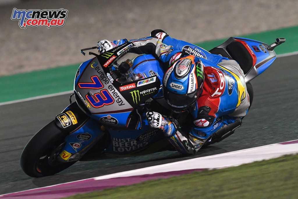 Alex Marquez took the Moto2 lead