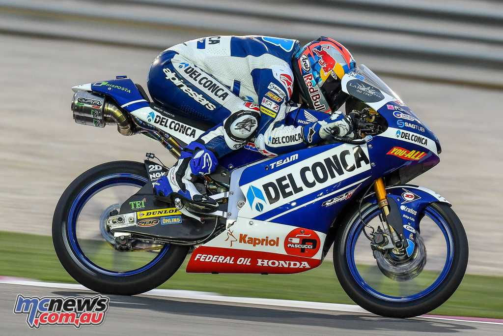 In Moto3 Jorge Martin came out on top after Friday's sessions
