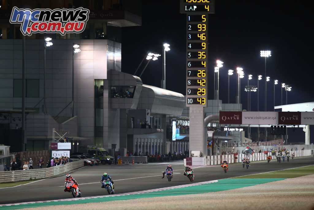 Jorge Lorenzo's Qatar MotoGP came to an unfortunate early end - Image by AJRN