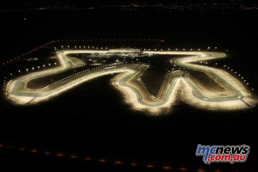 Losail is lit by floodlights, ensuring a unique round and environment for top class racing