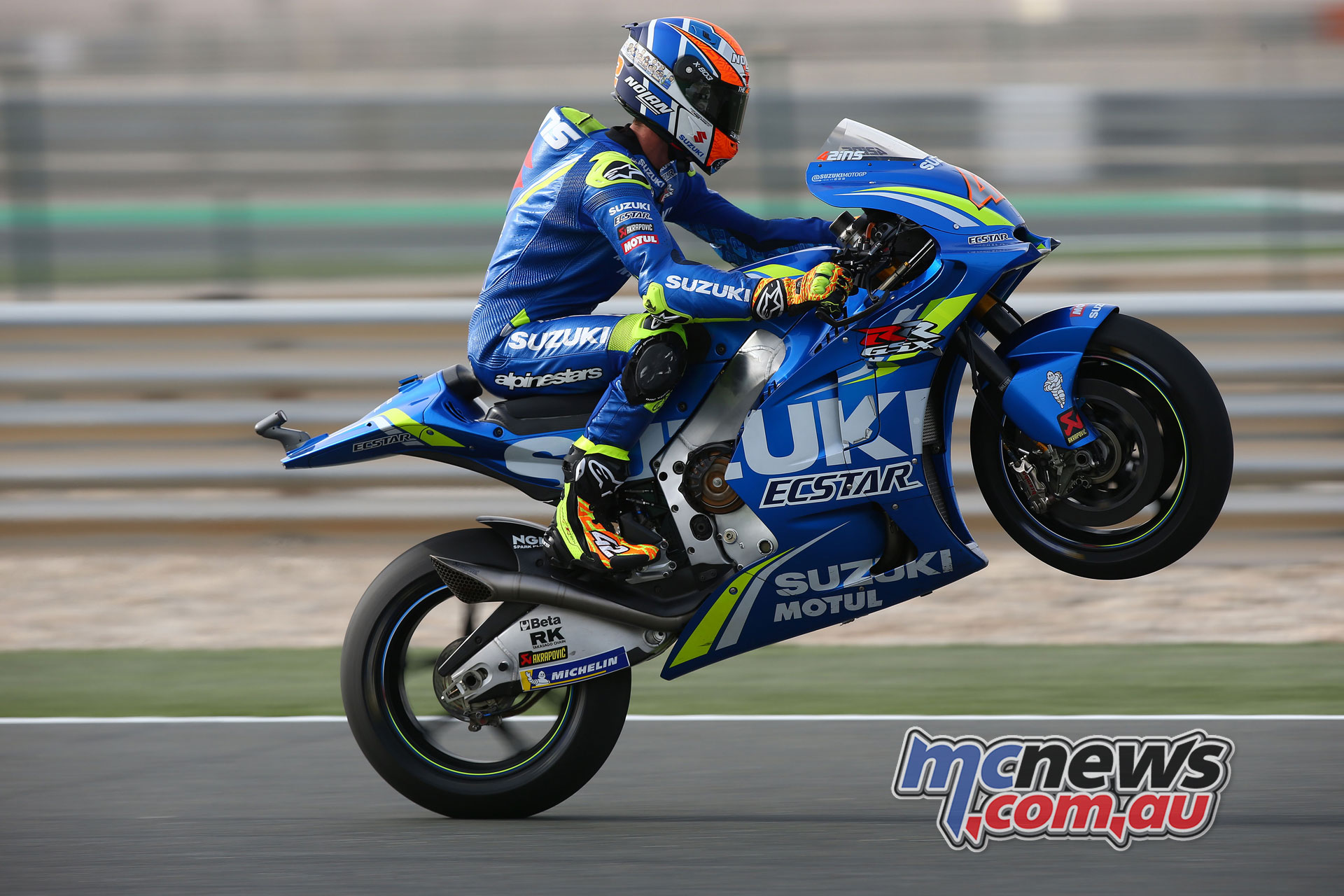 Alex Rins At Ecstar Suzuki Motogp For Two More Years